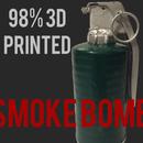 3D Printed Smoke Bomb/Grenade Movie Prop