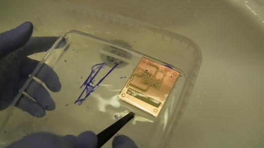 Peel of the Dry Film