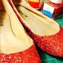 DIY Ruby Slippers