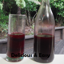 Raspberry and Blackberry Cordial