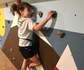 Basement Bouldering Wall