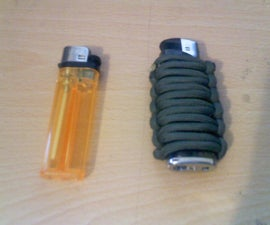 How to Wrap your lighter with Paracord