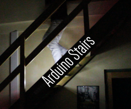 Motion Activated Stairs
