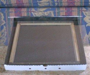 Solar Food Dehydrator - Easy (Pizza Box) Design!