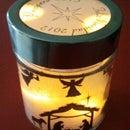 Nativity Scene lamp - Lampara de Navidad