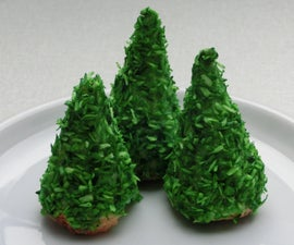 Easy 3D Christmas Tree Cookies