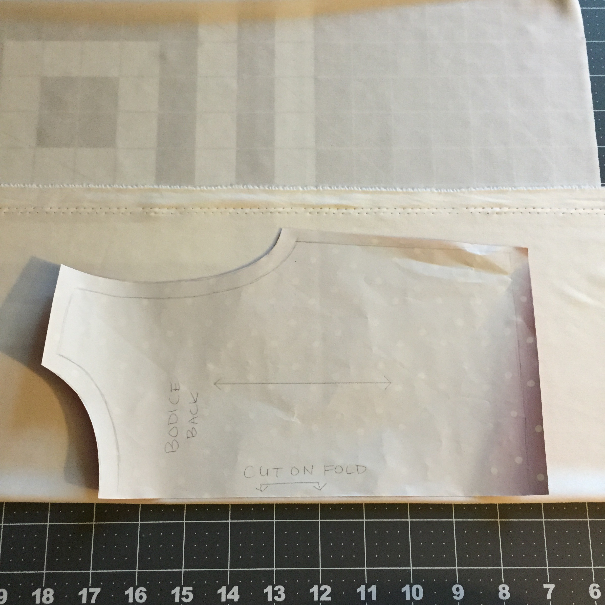 Picture of Making the Bodice Pattern