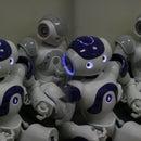 Robot detecting voice