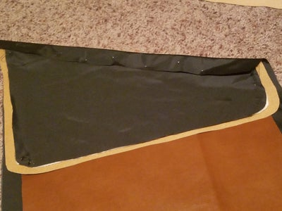 Sewing the Flap to Outward Face