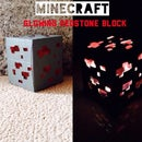 Minecraft Glowing Redstone Block