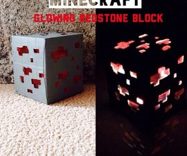 Minecraft Glowing Redstone Block