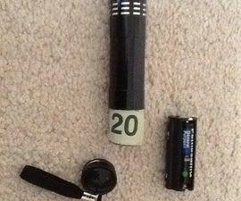 Secret Flashlight Wallet