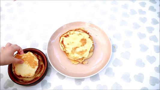 Gluten-free American Pancakes