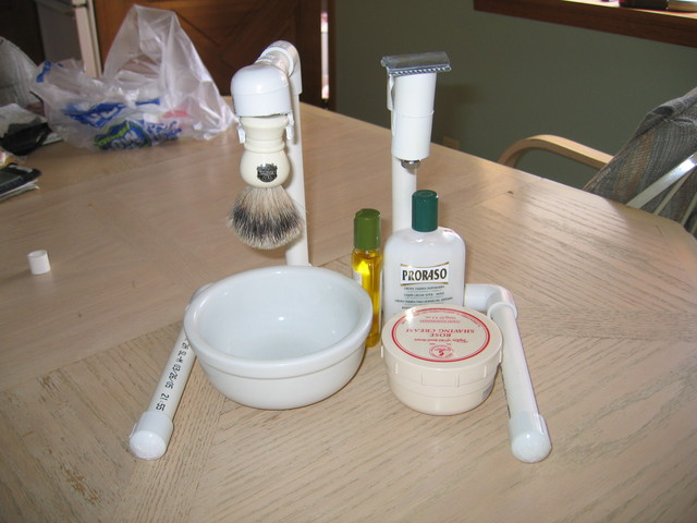 Picture of The $5 PVC Shaving Stand
