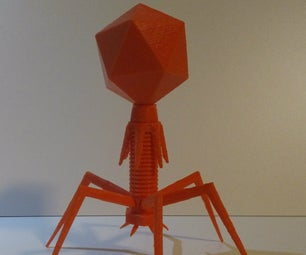 3D Printable Phage (A Guide to Modeling for FDM Printers)