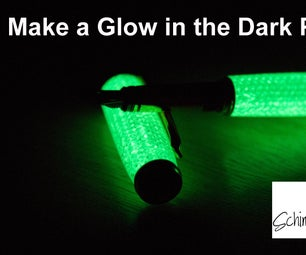 Make a Glow in the Dark Fountain Pen