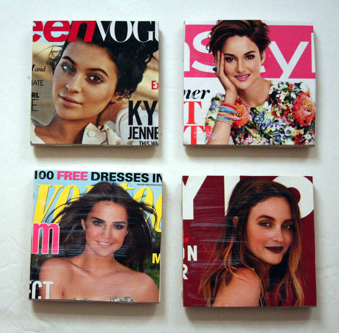 Picture of Magazine Cover Coasters