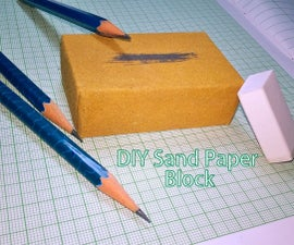 Sand Paper Block