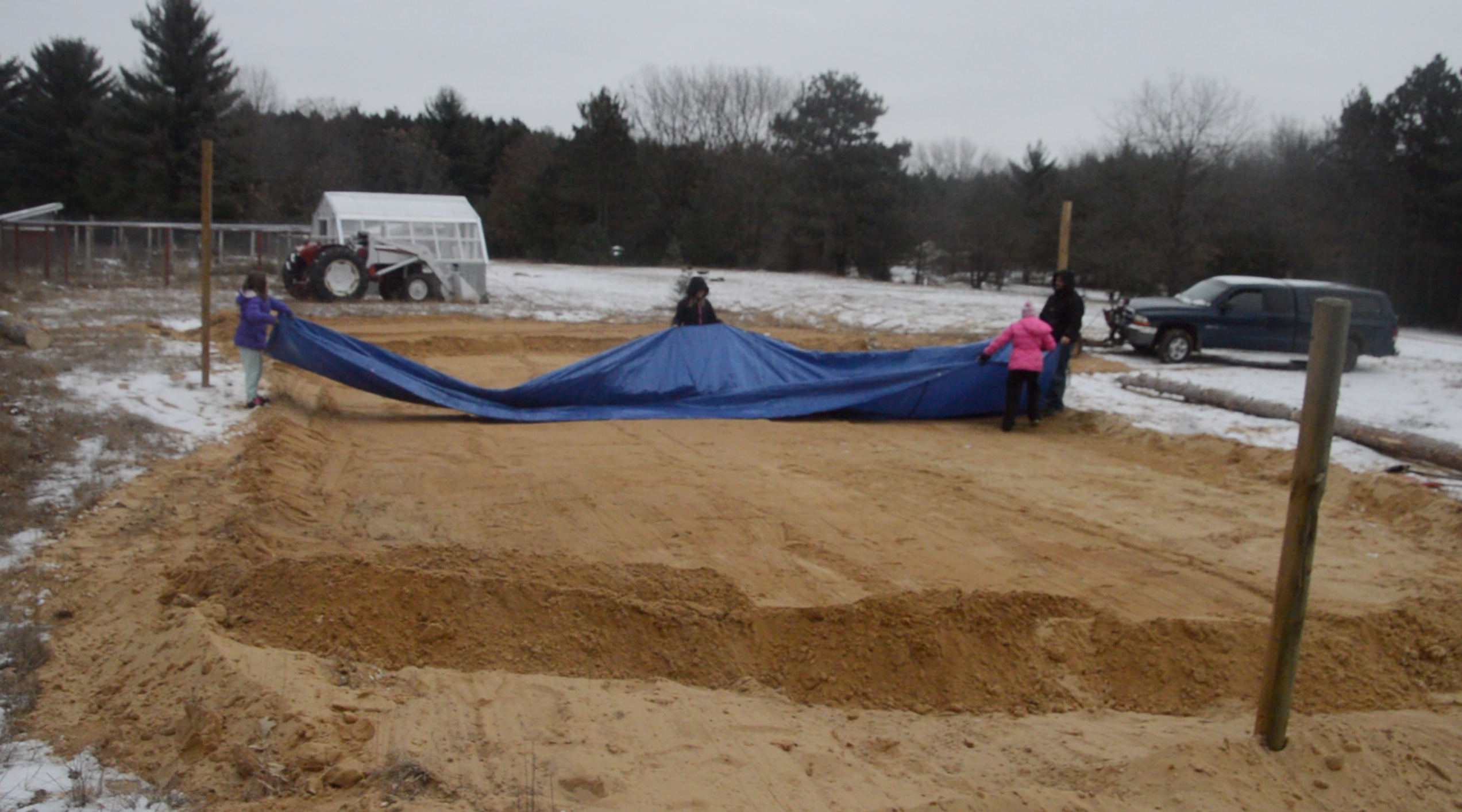 Picture of Position the Tarp