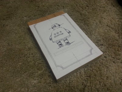 Preparing the Template and Drawing the Border