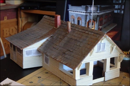 The Use of Wood in Scale Models