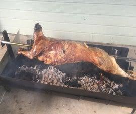 DIY CHEAP SPIT ROAST/PIG SPIT