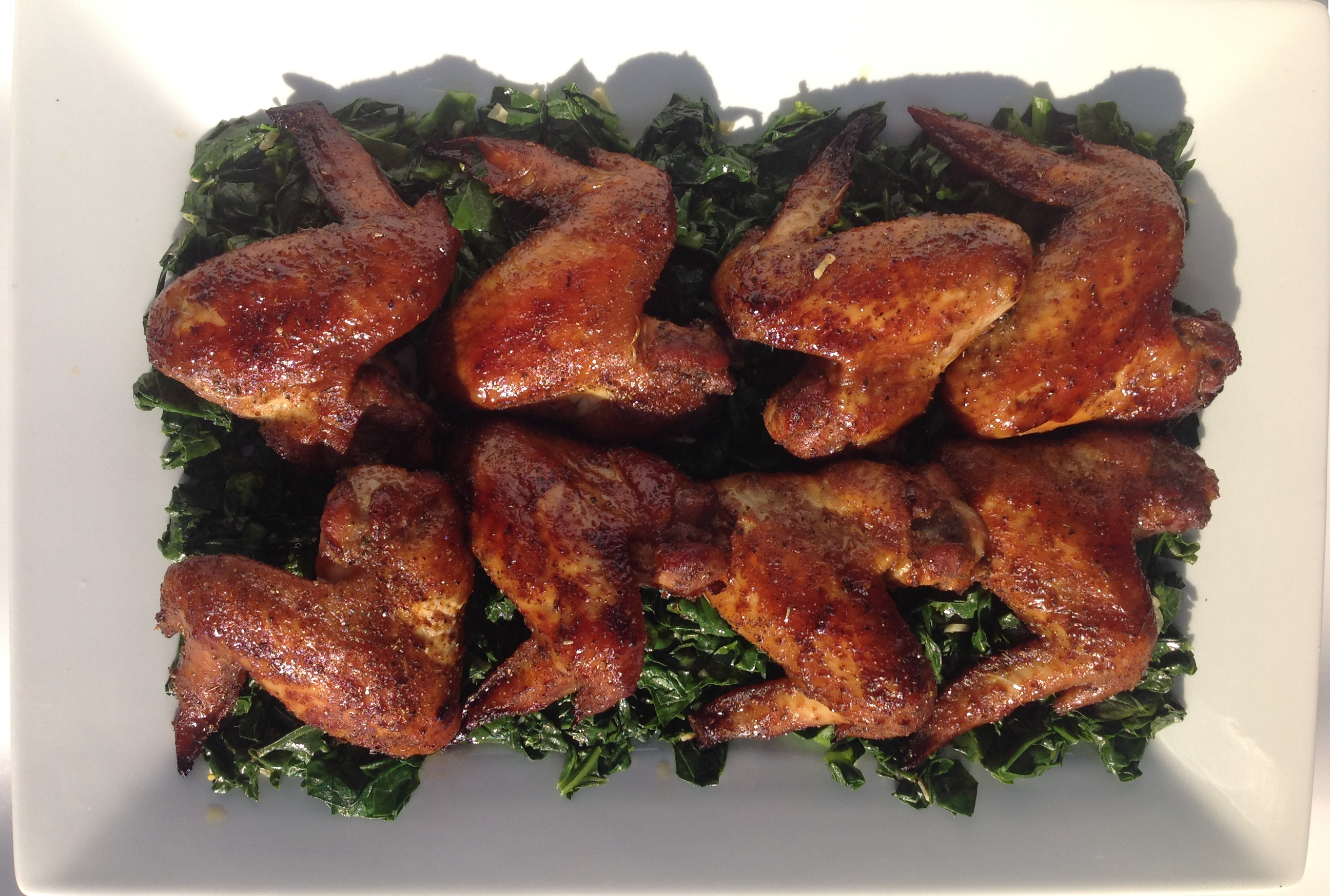 Picture of Roasted Pork Rib, Chicken Drum Sticks or Wings