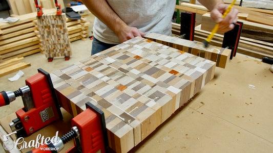 Glue Up End Grain Cutting Boards