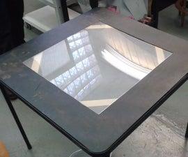 Folding Light Table