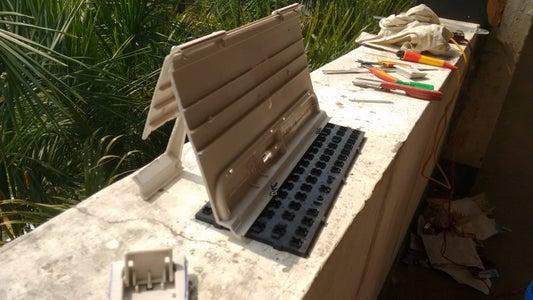 Book Holder : Using Old Keyboards