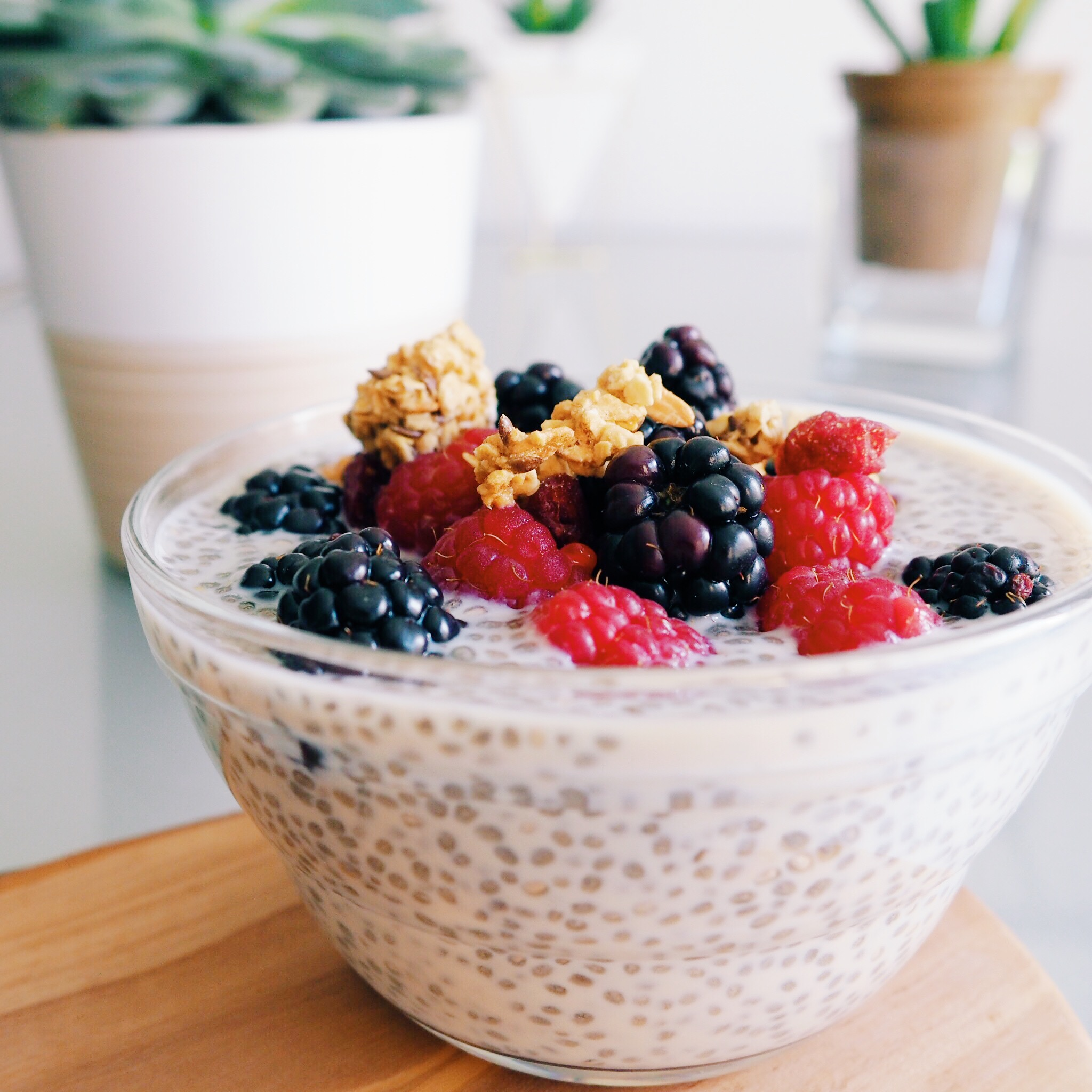 Picture of RECIPE | BERRY CHIA SEED PUDDING