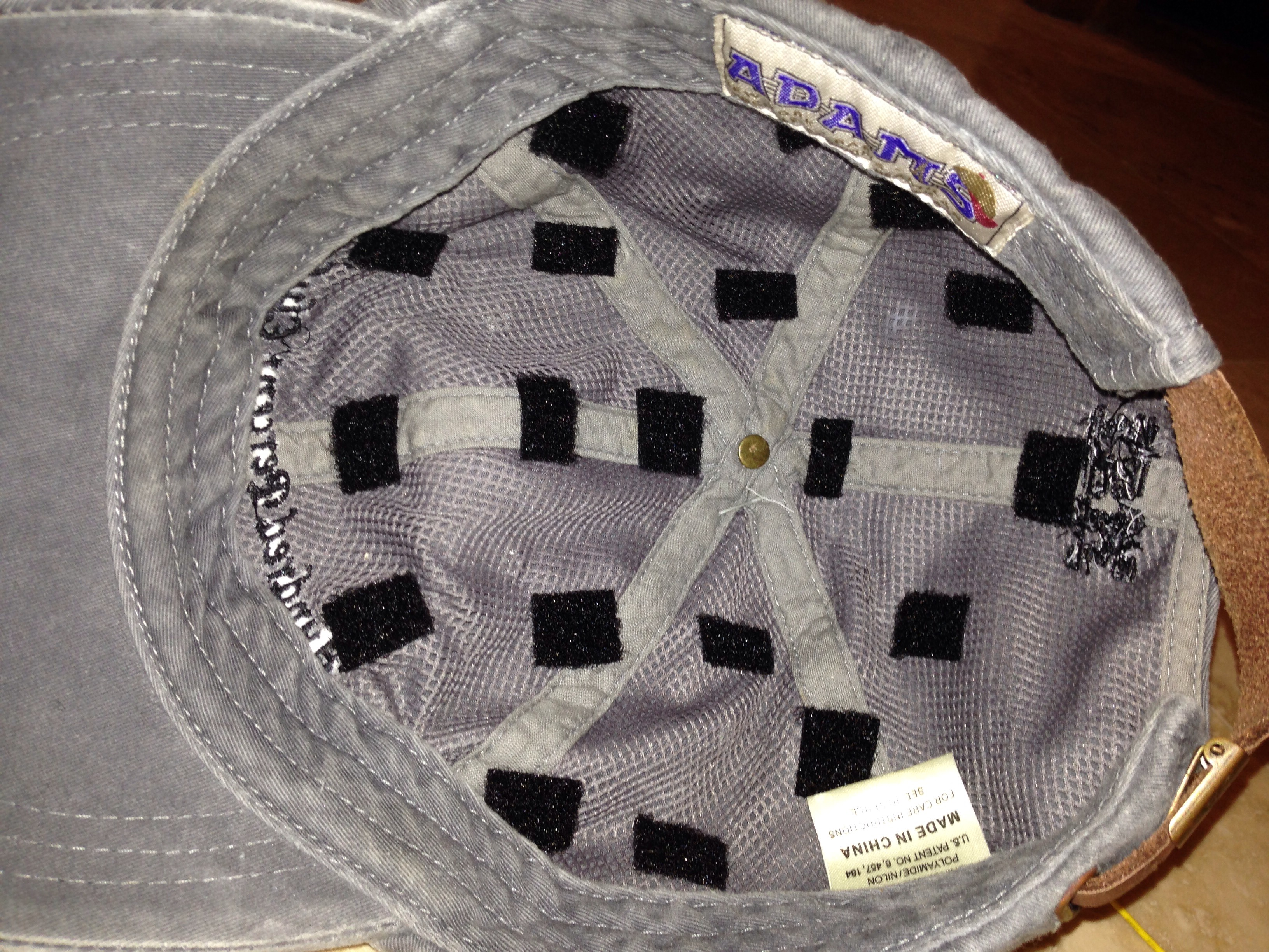 Picture of Hat Construction
