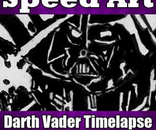 Darth Vader Speed Drawing