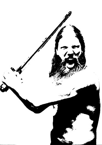 Picture of Viking Stencil in Photoshop