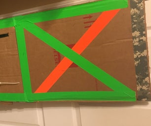 Cardboard Nerf Riot Shield