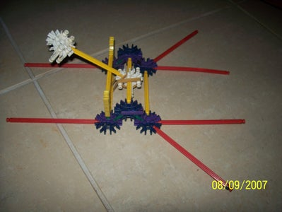 A Super Simple K'Nex Catapult