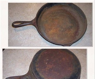 Don't Throw Out That Ugly Cast Iron Skillet