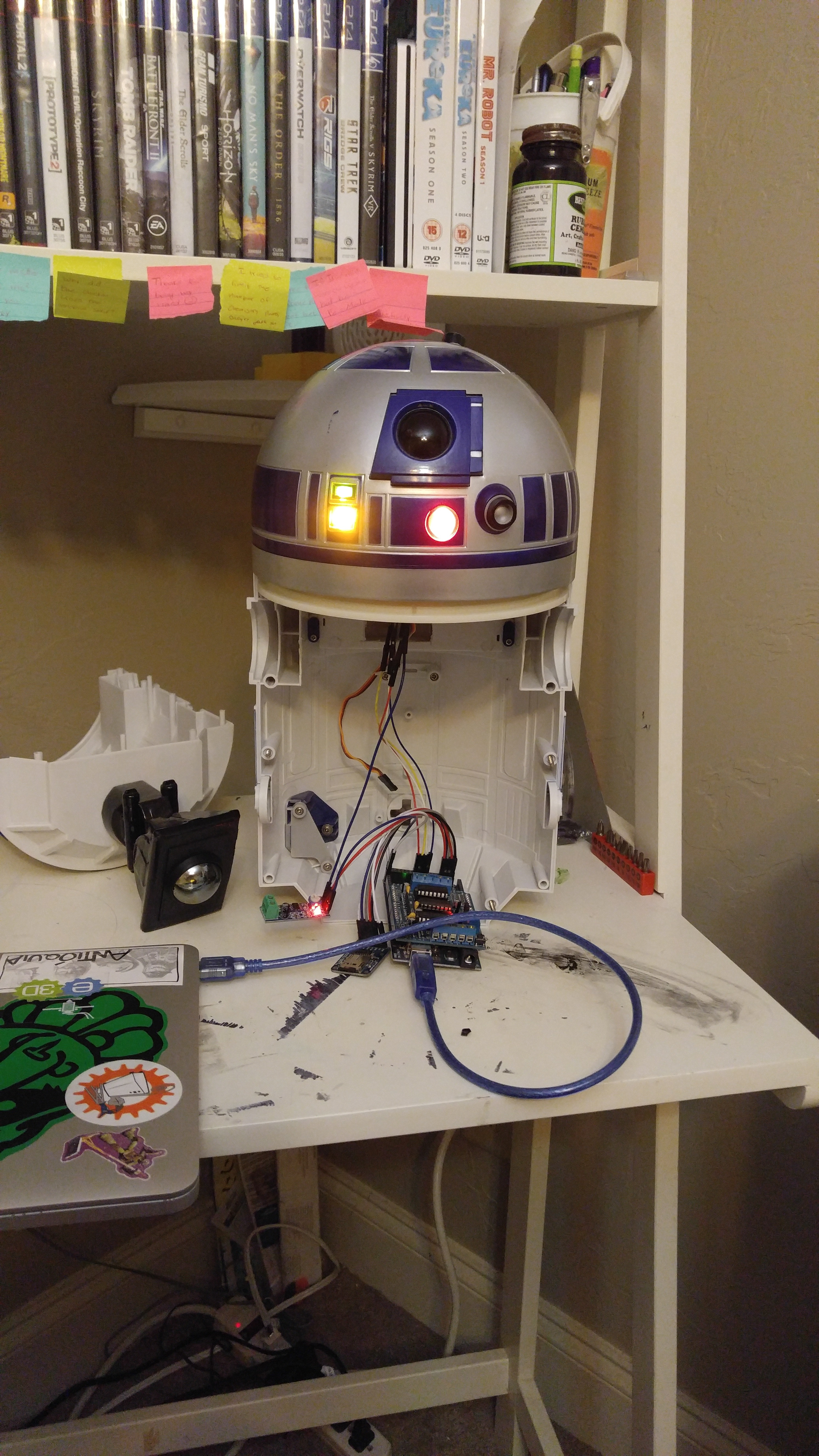 Picture of A Lesson in Using a Raspberry Pi to Remote Operate an Arduino Based Robot