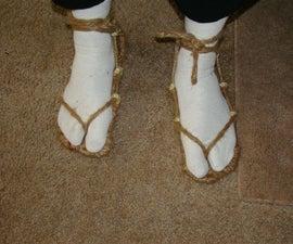 Make Your Own Bleach Cosplay Sandals (waraji)