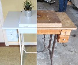 Veneer Repair: Vintage Sewing Table