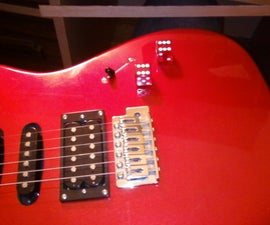 How to Make: Dice Guitar Knobs