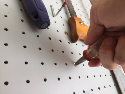 Install on Your Pegboard