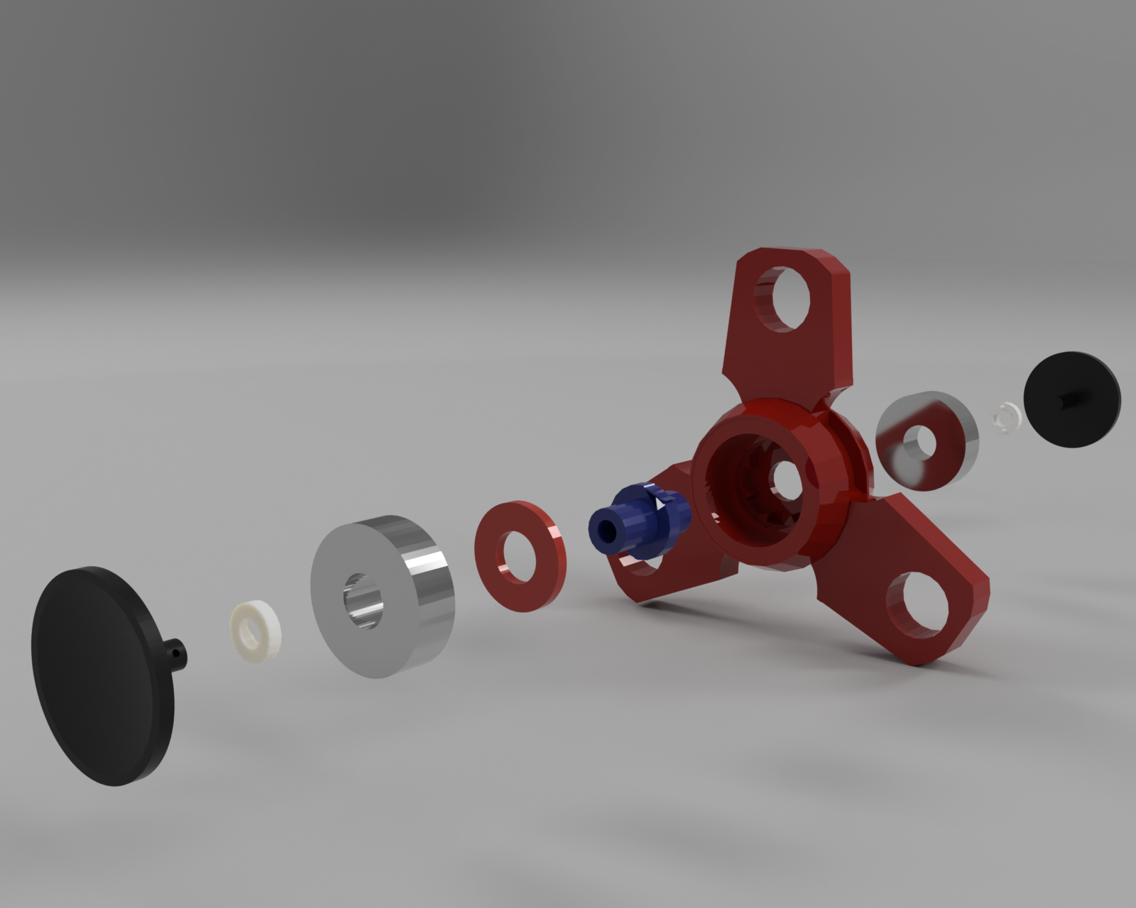 Picture of Forever Spinner - Tinkercad 3D Printed