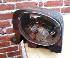 Elephant-Shaped Piggy Bank