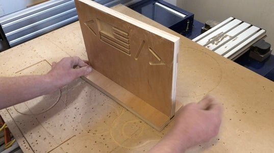Remove Pieces From Table & Assemble