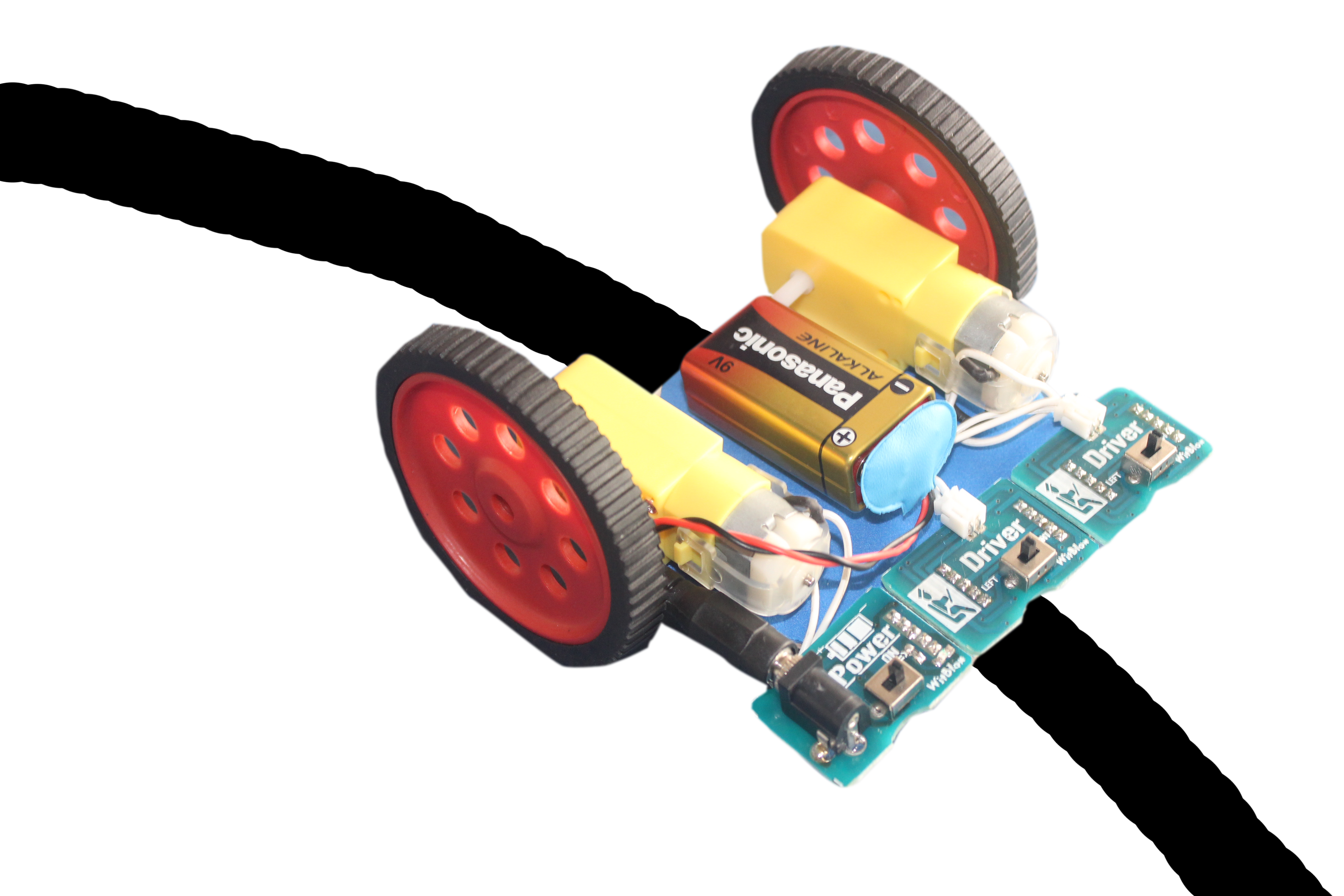 Picture of Line Follower Robot Using WitBlox