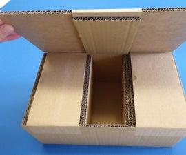 The Magic Chicken Cardboard Box