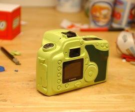 How to Paint Your Dslr