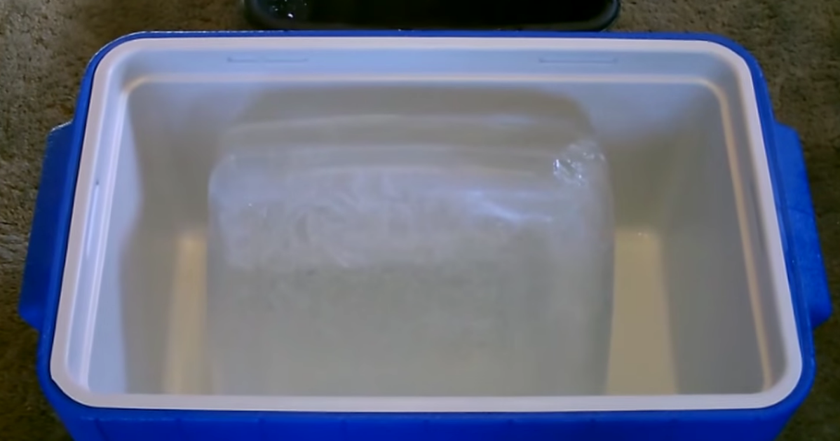 Picture of Add Some Ice to the Bucket and You're Good to Go