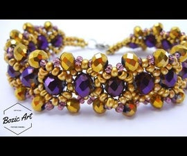 Czech Crystal Bracelet |  How To